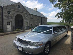 Silver Limousines for Hire Dublin