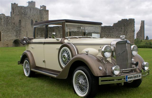 Vintage Wedding Car Service Dublin