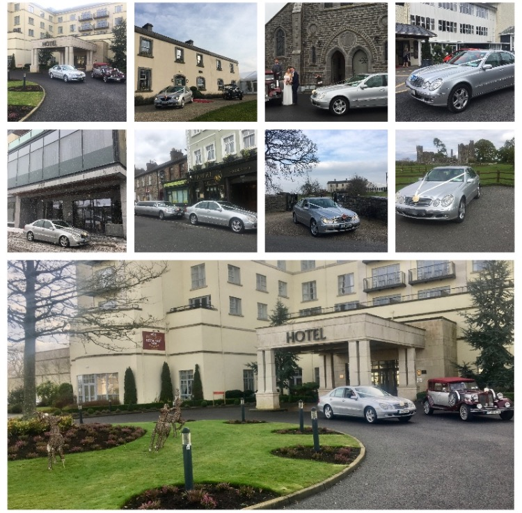 Modern Wedding Cars & Limousines for Hire Ireland