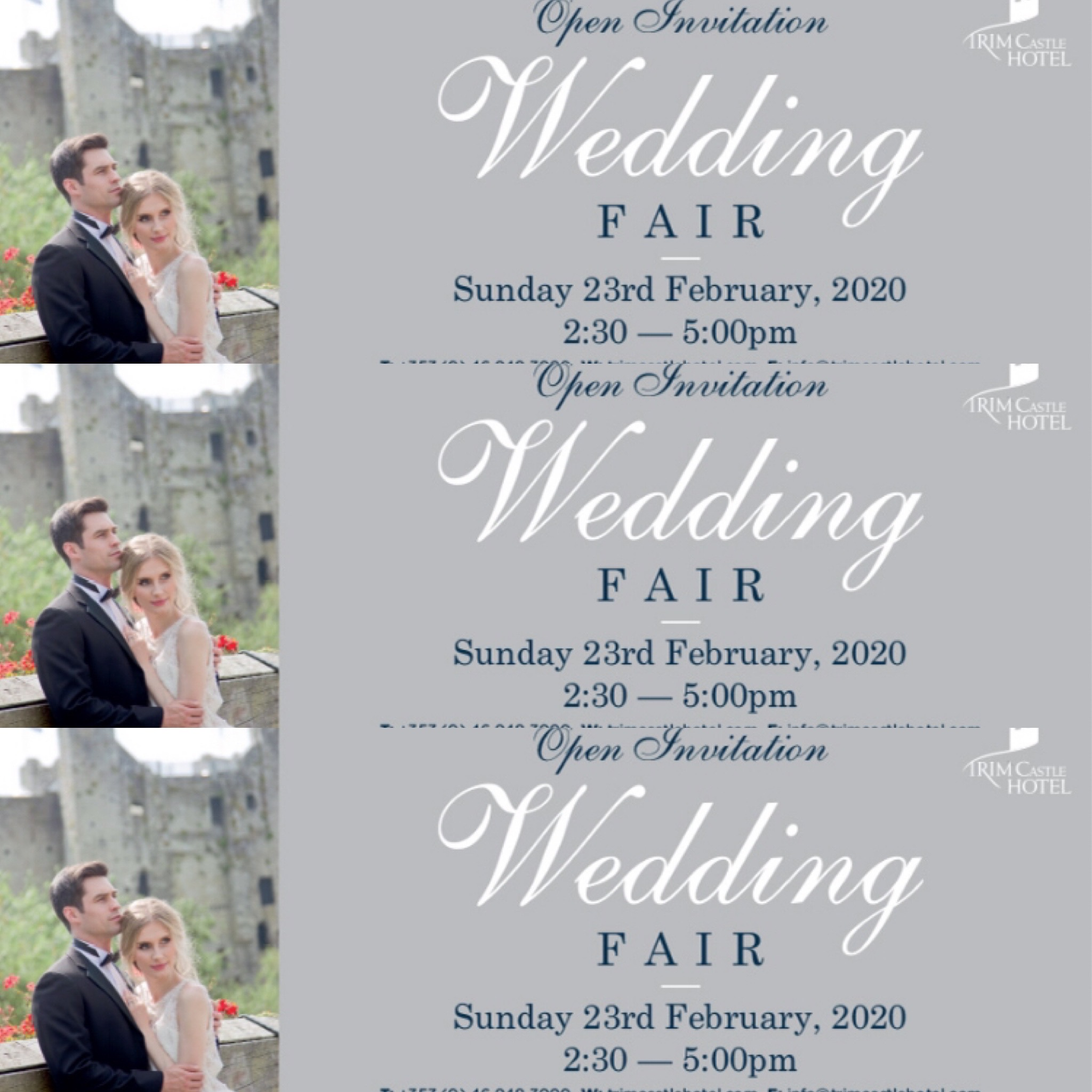 Trim Castle Hotel Wedding Fair 2020
